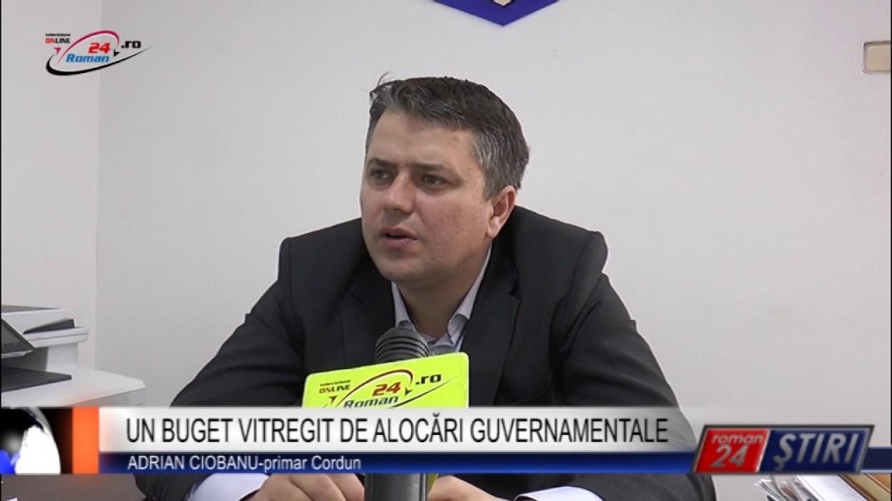 UN BUGET VITREGIT DE ALOCĂRI GUVERNAMENTALE