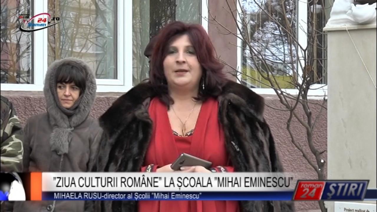 ZIUA CULTURII ROMÂNE LA ȘCOALA MIHAI EMINESCU