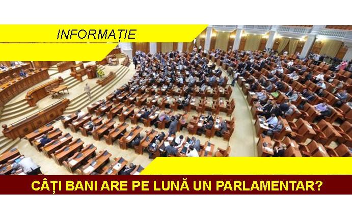 Câți bani are, pe lună un parlamentar? Iulian Bulai, USR, explică, pe Facebook.