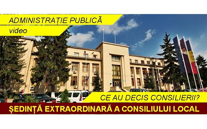 Ședință extraordinară a Consiliului Local Roman- 09 februarie 2017