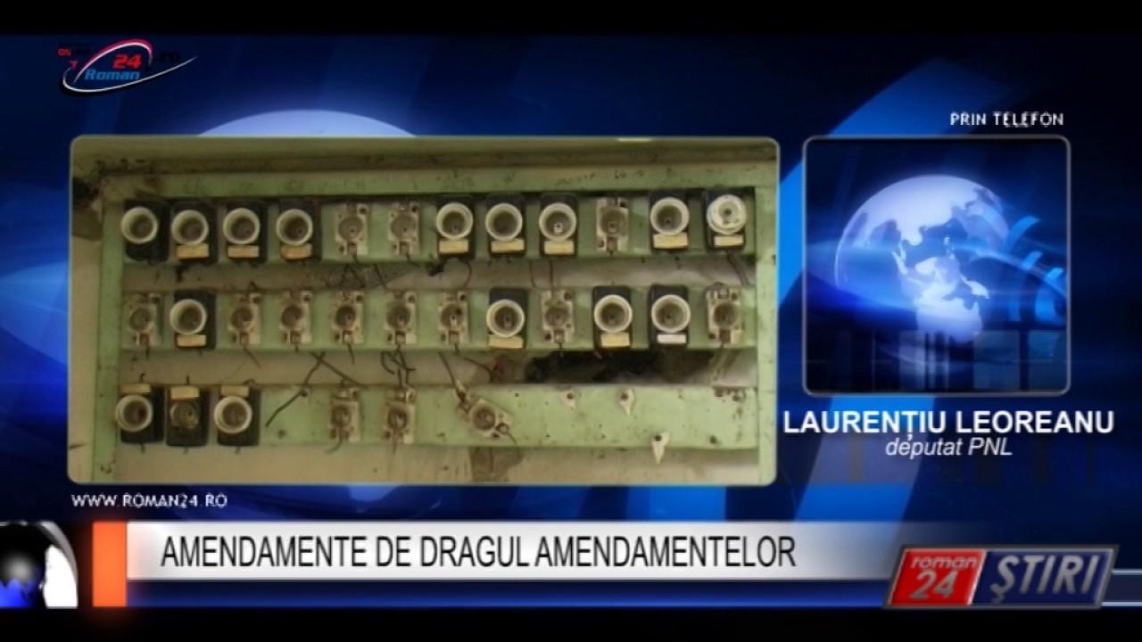 AMENDAMENTE DE DRAGUL AMENDAMENTELOR