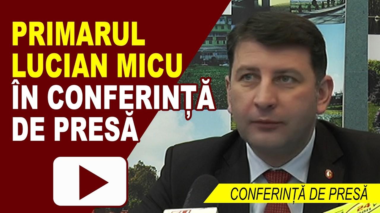 CONFERINȚĂ DE PRESĂ PRIMĂRIA ROMAN 13.02.2017
