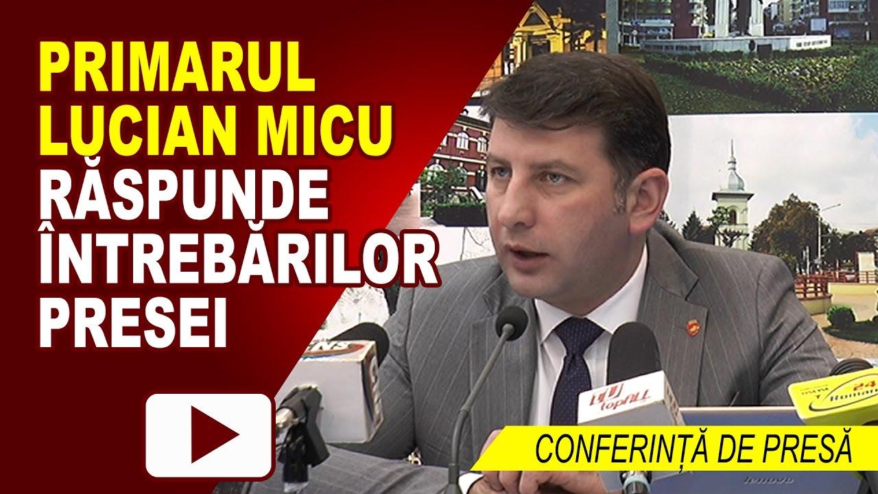 CONFERINȚĂ DE PRESĂ PRIMĂRIA ROMAN 27.02.2017