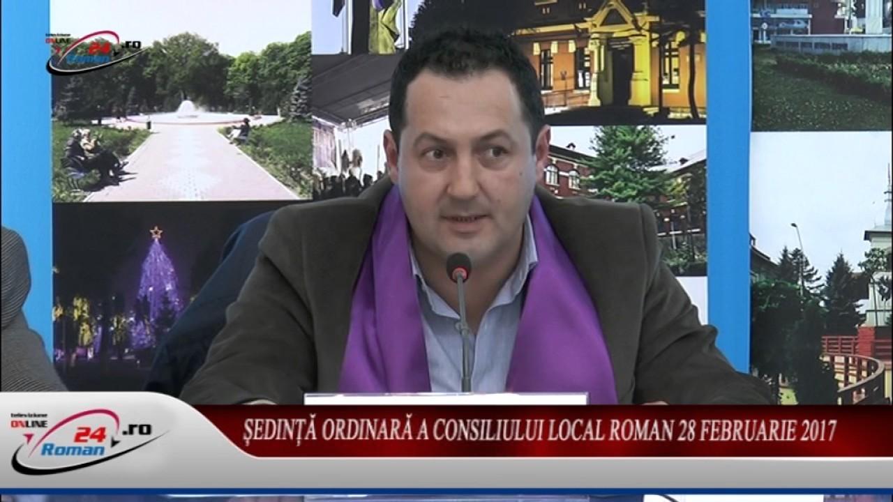 Ședință ordinară a Consiliului Local Roman 28 februarie 2017