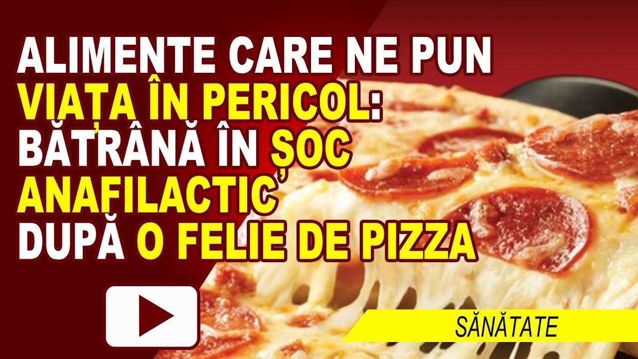 ERA SĂ MOARĂ DE LA PIZZA