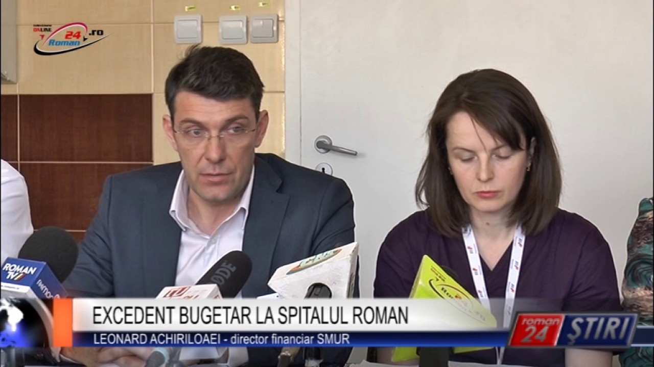 EXCEDENT BUGETAR LA SPITALUL ROMAN