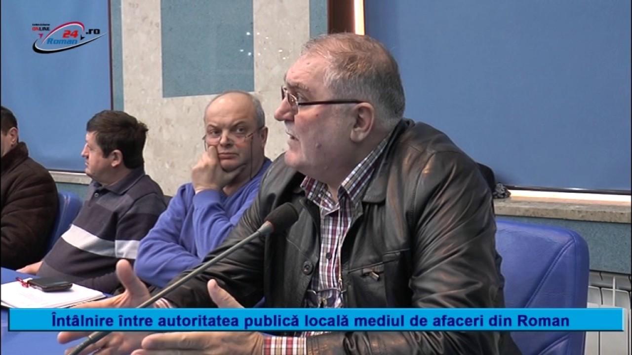 INTALNIRE INTRE AUTORITATILE PUBLICE LOCALE SI MEDIUL DE AFACERI DIN ROMAN