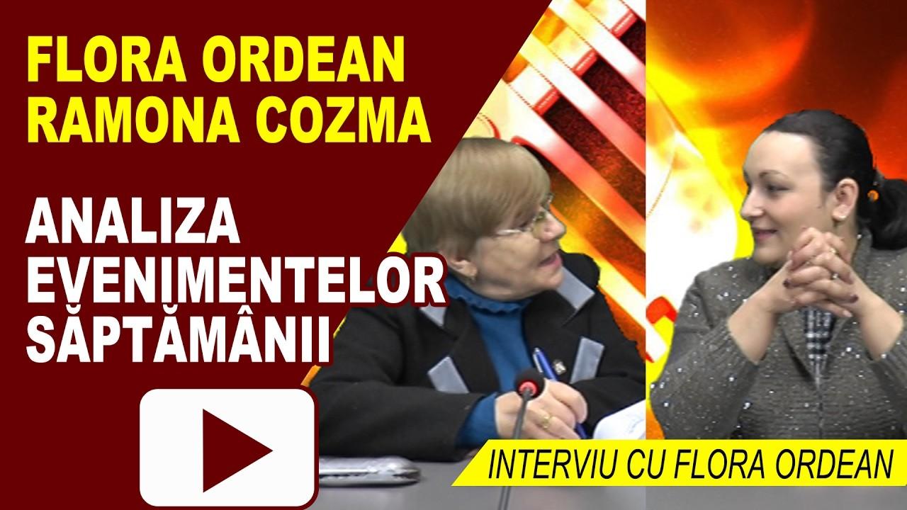 INTERVIU CU FLORA ORDEAN – RETROSPECTIVA SAPTAMANII 21.02.2017