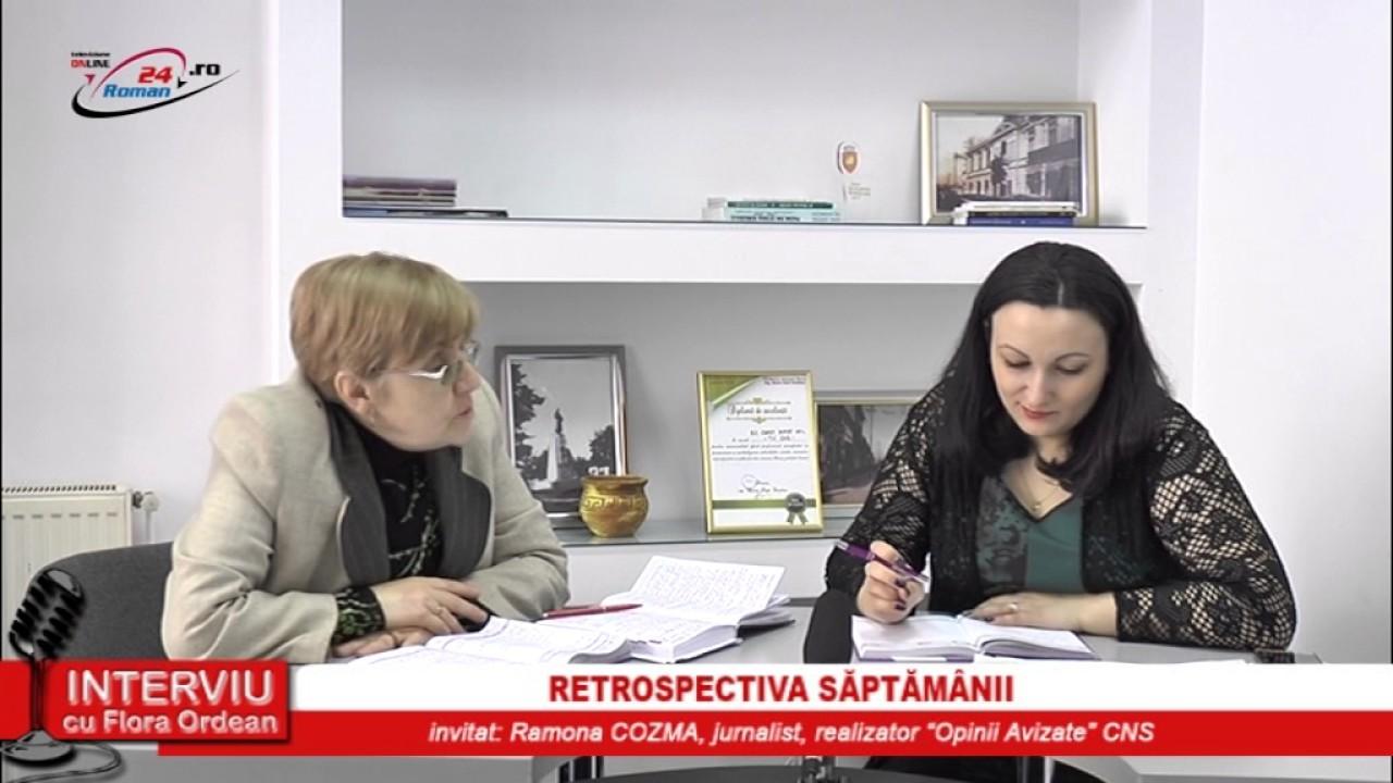 INTERVIU CU FLORA ORDEAN – RETROSPECTIVA SAPTAMANII 28.02.2017