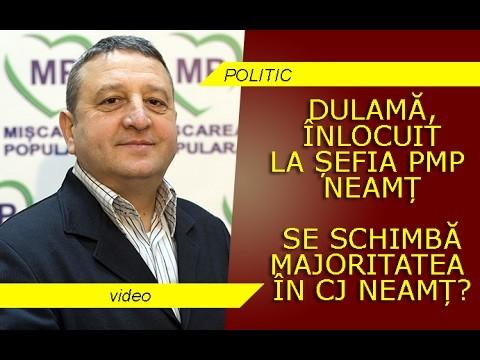 PMP SCHIMBĂ LIDERUL ȘI, POSIBIL, MAJORITATEA ÎN CJ NEAMȚ