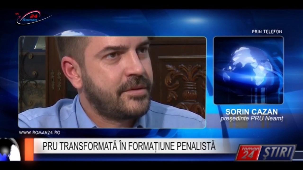 PRU TRANSFORMATĂ ÎN FORMAȚIUNE PENALISTĂ