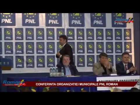 CONFERINTA ORGANIZATIEI MUNICIPALE PNL ROMAN