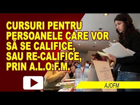 CURSURI DE CALIFICARE PENTRU ȘOMERI
