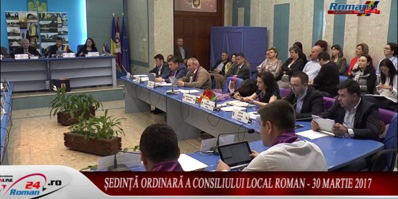 Ședință ordinară a Consiliului Local Roman – 30 martie 2017