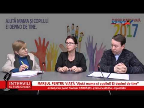 INTERVIU CU FLORA ORDEAN – MARSUL PENTRU VIATA 24.03.2017