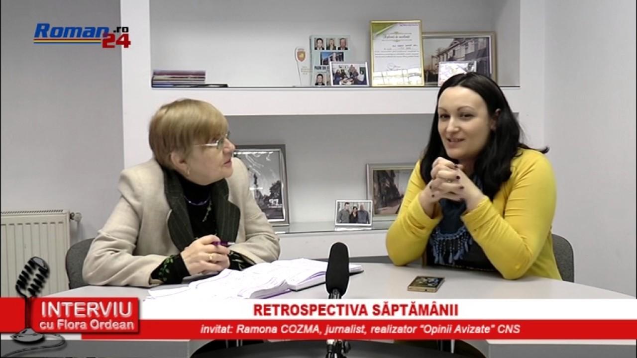 INTERVIU CU FLORA ORDEAN – RETROSPECTIVA SĂPTĂMÂNII 14.03.2017
