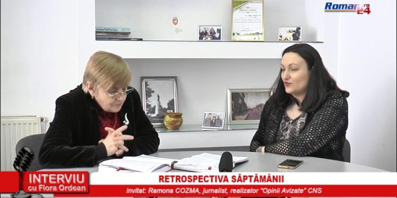 INTERVIU CU FLORA ORDEAN – RETROSPECTIVA SAPTAMANII 22.03.2017