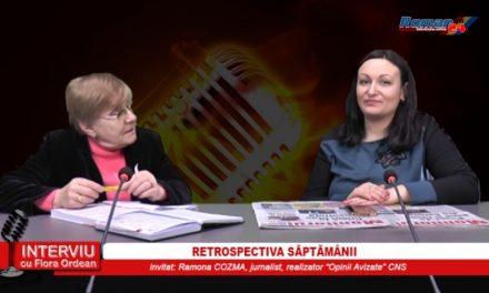 INTERVIU CU FLORA ORDEAN – RETROSPECTIVA SAPTAMANII 24.03.2017