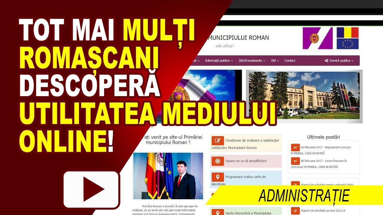 PRIMĂRIA ROMAN ȘI GUVERNAREA ELECTRONICĂ