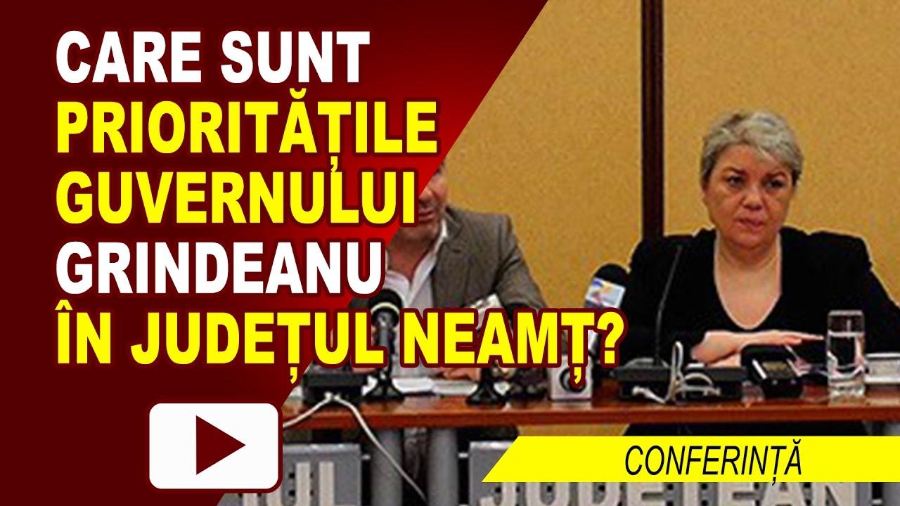 PRIORITĂȚILE GUVERNULUI GRINDEANU LA NEAMȚ
