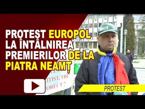 PROTEST LA ȘEDINȚA GUVERNELOR GRIDEANU-FILIP