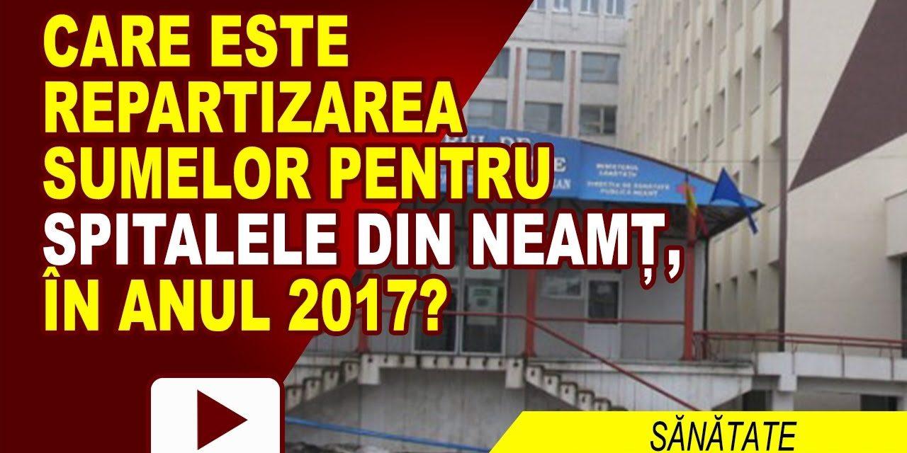 S-AU REPARTIZAT BANII PENTRU SPITALE