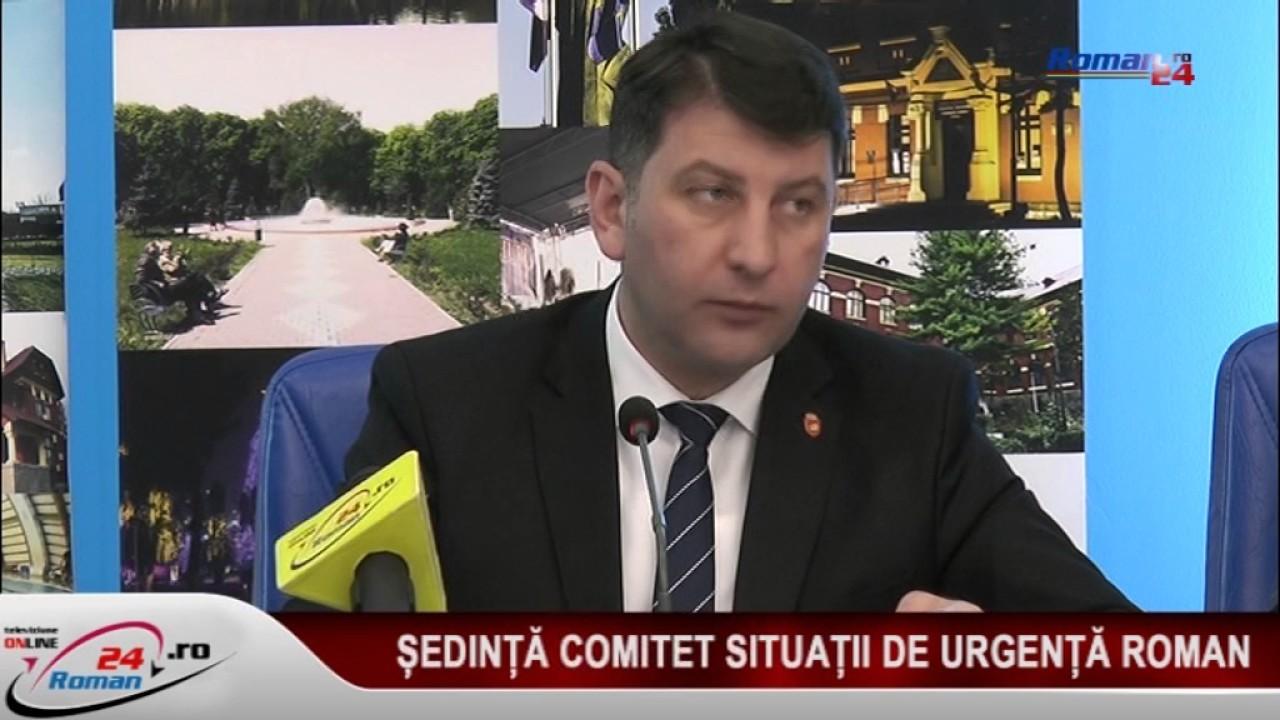 SEDINTA COMITET SITUATII DE URGENTA ROMAN 16.03.2017