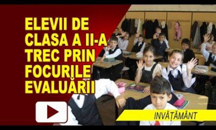 A ÎNCEPUT EVALUAREA LA CLASA a II-a