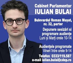Cabinet Parlamentar Iulian Bulai