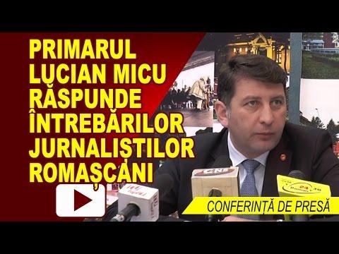 CONFERINTA DE PRESA PRIMARIA ROMAN 10.04.2017