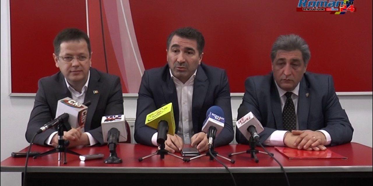 Conferinta de presa PSD Roman – Lansarea Candidatului la functia de Primar al Municipiului Roman