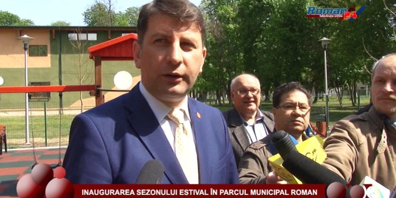 DESCHIDEREA SEZONULUI ESTIVAL 2017 ÎN PARCUL MUNICIPAL ROMAN