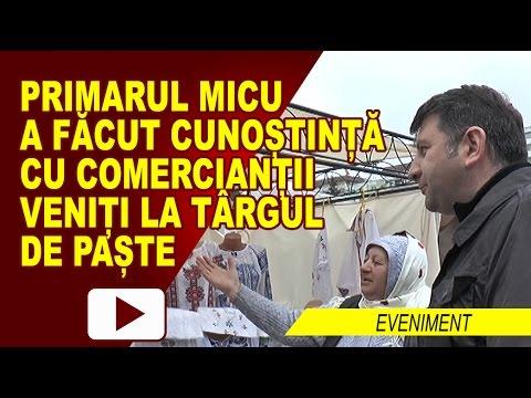 DESCHIDEREA TÂRGULUI DE PAȘTE, CU PRODUSE TRADIȚIONALE 2017