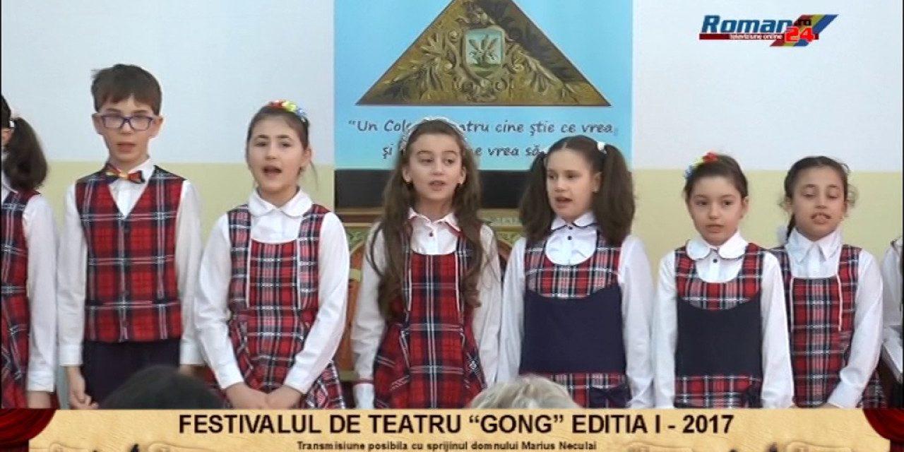 FESTIVALUL INTERJUDETEAN DE TEATRU GONG EDITIA I ROMAN