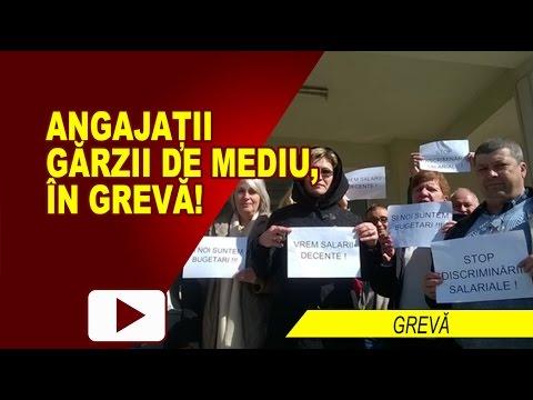 GREVĂ LA GARDA DE MEDIU