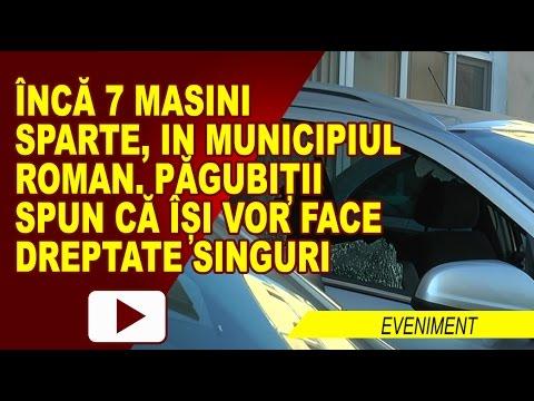 INCĂ O PARCARE, ȚINTA SPĂRGĂTORILOR DE MAȘINI