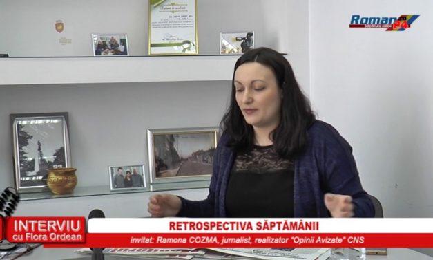 INTERVIU CU FLORA ORDEAN – RETROSPECTIVA SAPTAMANII 11.04.2017