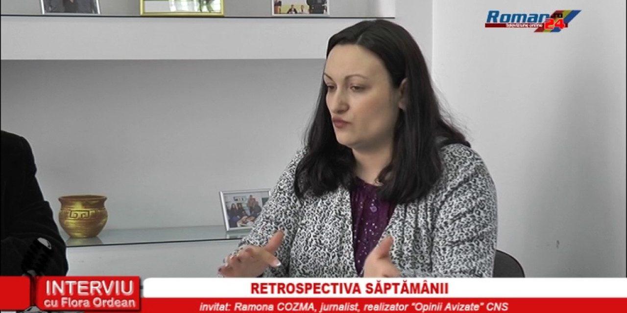 INTERVIU CU FLORA ORDEAN – RETROSPECTIVA SAPTAMANII 25.04.2017