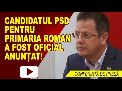MARIUS NECULAI, CANDIDATUL PSD LA ALEGERILE LOCALE