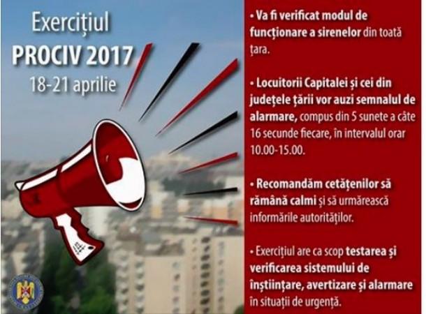 Incepand de astazi, sirenele vor suna in toata Romania, timp de patru zile