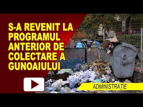 S-A REVENIT LA PROGRAMUL DE COLECTARE A GUNOIULUI
