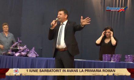 1 Iunie sarbatorit in avans, la Primaria Roman