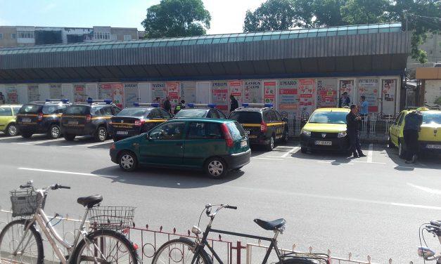 Descinderi fara precedent ale ANAF in Piata Centrala Roman