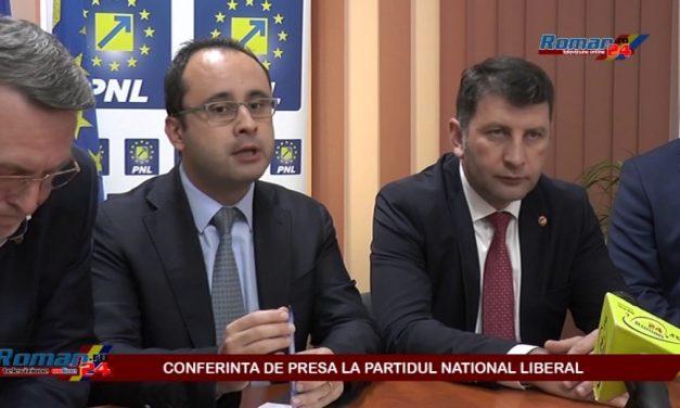 CONFERINTA DE PRESA LA PARTIDUL NATIONAL LIBERAL