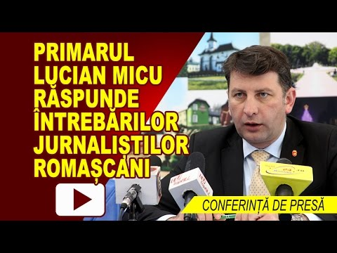 CONFERINTA DE PRESA PRIMARIA ROMAN 09.05.2917