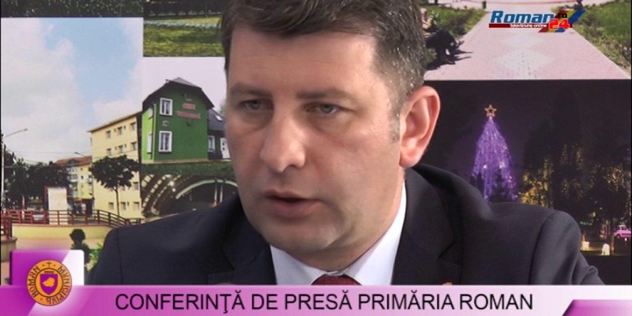 CONFERINTA DE PRESA PRIMARIA ROMAN 22.05.2017
