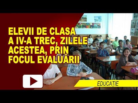 ELEVII DE CLASA A IV-a TREC PRIN EMOȚIILE EVALUĂRII