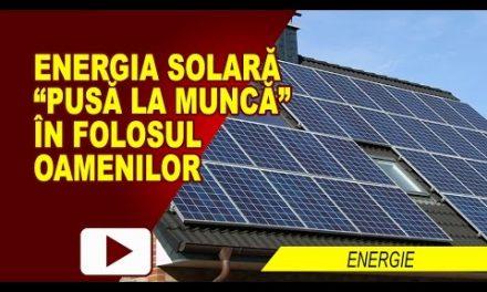ENERGIA SOLARĂ LA MARE CĂUTARE