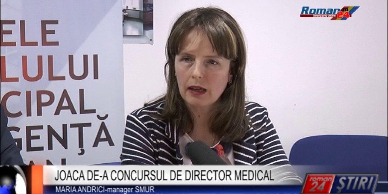 JOACA DE-A CONCURSUL DE DIRECTOR MEDICAL