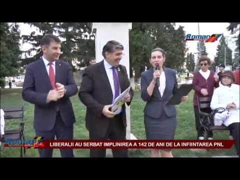 LIBERALII AU SERBAT IMPLINIREA A 142 DE ANI DE LA INFIINTAREA PNL